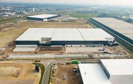 Foto van XL Businesspark in aanbouw